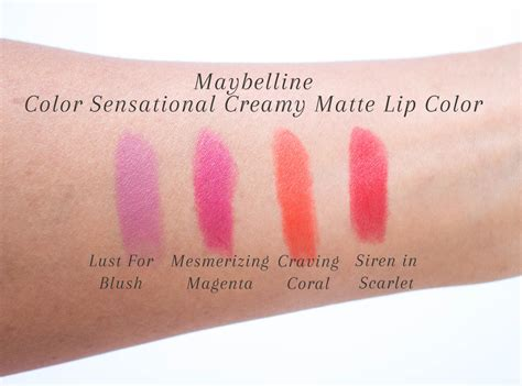 Lipstick Maybelline Color Show Matte maybelline lust for blush matte www pixshark