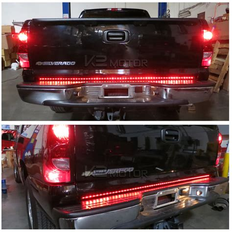truck tailgate light bar 60 quot tailgate led light bar signal brake lights
