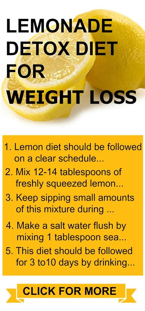 Detox 1 Week Weight Loss by Lemonade Diet Proven Diet For Weight Loss Cleansing