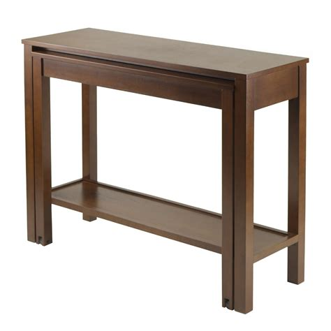 console table used as dining table furniture 1000 images about console tables on pinterest