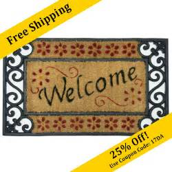 Welcome Mats Quot Welcome Home Quot Rubber Welcome Mats