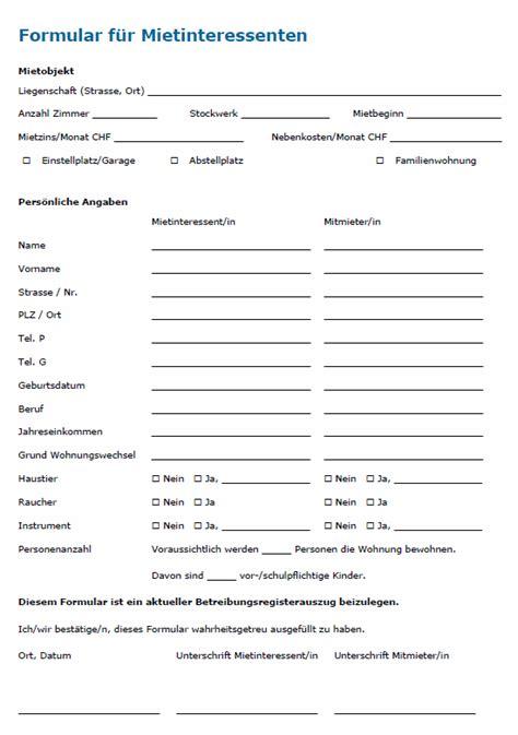 wohnung formular wohnungen vermieten tipps und vorlagen f 252 r vermieter