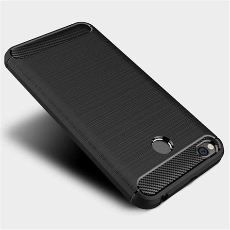 Premium Leather Black Softcase Waterproof Xiaomi Redmi 4x Diskon carbon cover tpu for xiaomi redmi 4x black black hurtel pl gsm wholesale