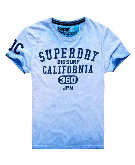 T Shirt Tshirt T Shirt Surfing Kaos Surfing Billabong A5142 new mens superdry big surf t shirt optic light indigo ebay