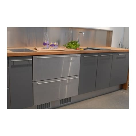 Integrated Refrigerator Drawers by Norcool Fully Integrated Drawer Fridge With Stainless Steel Doors 16260200 Refrigeration Built