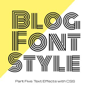decorative line css code it pretty blog font style with css text effects