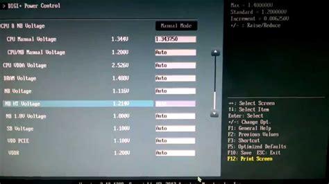 tutorial overclock fx 8350 amd fx 8350 minor overclock w asus sabertooth 990fx youtube