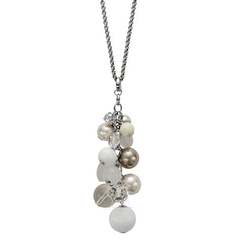 fossil jewelry jf86075040 stainless steel necklace jewelry