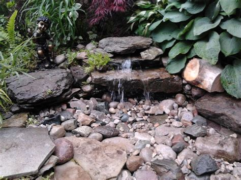 diy backyard waterfall diy pondless waterfall garden pinterest