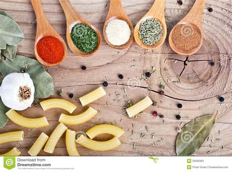 spices food preparation on table food ingredients stock