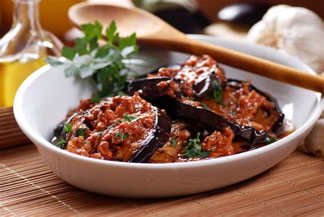 recette aubergines 224 la boh 233 mienne