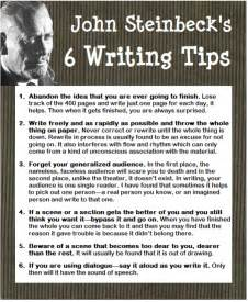 advice from b w copy anecdotal stories of s journey with great advice to help you along the way books steinbeck east of writing style