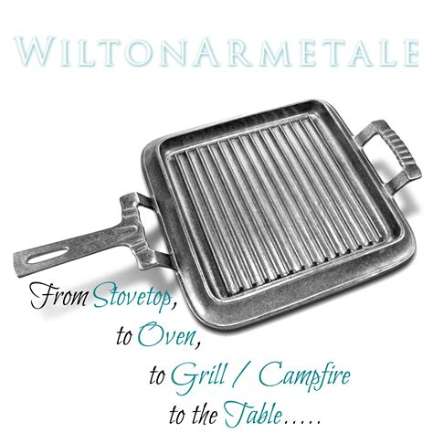 Wilton Oven Griddle Only from stovetop to oven to grill and to the table wilton armetale our of earth