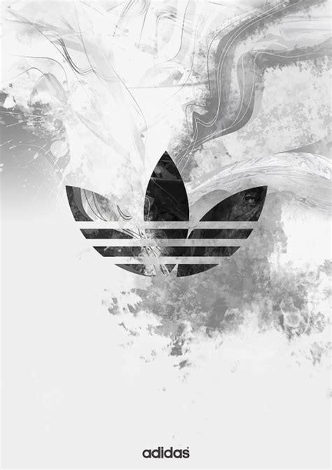 adidas wallpaper black and white adidas logo tumblr