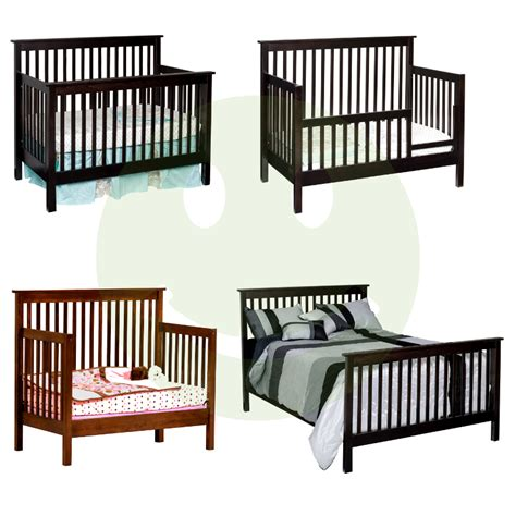 Baby Cribs Made In America Quincy Convertible Baby Crib Made In Usa Solid Wood American Eco Furniture