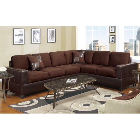 microfiber or leather sofa 2 modern large microfiber and faux leather sectional