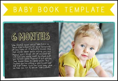 baby book templates