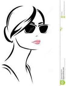 Outline Of A Portrait by Fashion Vector Stock Photography Image 38745602