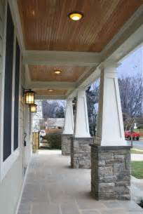 craftsman porch craftsman columns favorite places spaces pinterest