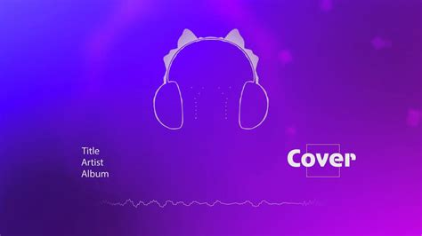 Audio Visualizer Headphones For Adobe After Effects Adobe After Effects Visualizer Template