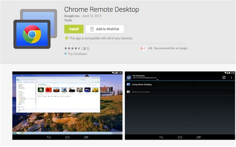 chrome remote desktop android chrome remote desktop app now available on play droid