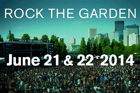 Rock The Garden Minneapolis Rock The Garden 2014 Save The Dates The Current From Minnesota Radio