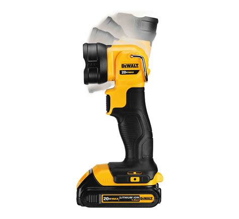 dewalt led portable work light dewalt dcl040 20v cordless led work light at toolpan com