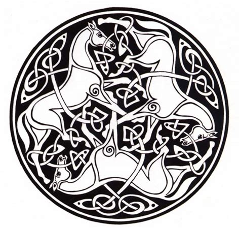 celtic tattoo animal meanings the equus ally happy st patrick s day