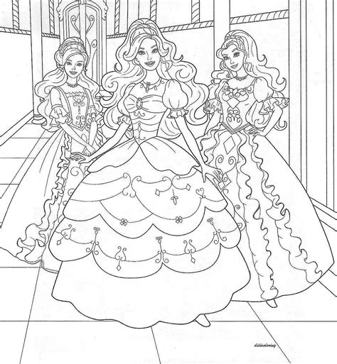 Beautiful Princess Coloring Pages most beautiful princesses coloring for printable