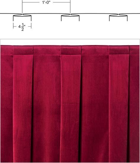drapery fullness curtain fullness