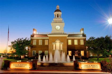 Dallas Baptist Mba Review by 30 Best Value Colleges And Universities In 2018