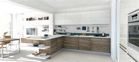 innovative kitchen designs modern open kitchen design with a little touch of color 171 kdp