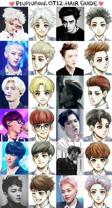 exo anime i must learn how to draw amazing exo anime exo