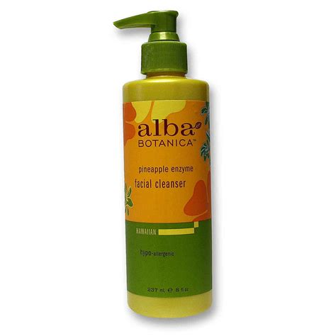 Hawaiian Detox Cleanser Review by Evitamins Alba Botanica Pineapple Enzyme