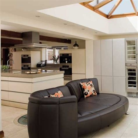 Open Kitchen Design With Living Room by Open Plan Kitchen Living Room Housetohome Co Uk