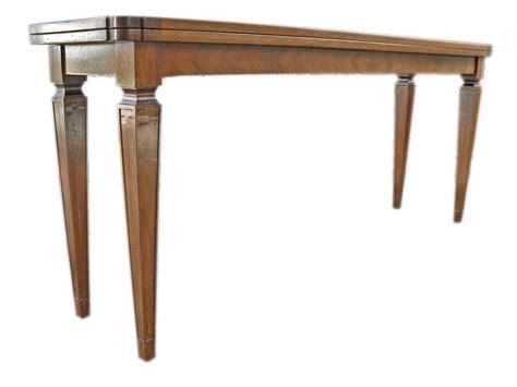 tavolo consolle apribile tavolo consolle apribile a libro luigi sedici la commode