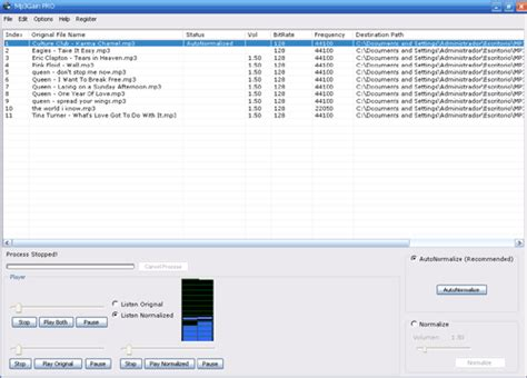 mp3 gain pro official site mp3 normalizer mp3gain pro normalize mp3 mp3gain volume booster software