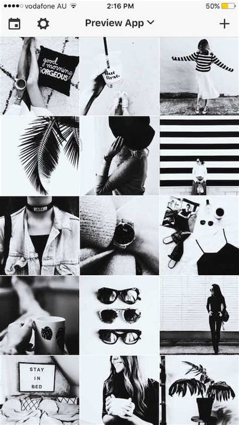 themes black white 14 instagram theme ideas with tips