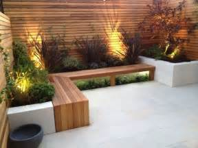 Built In Patio Benches by 20 Built In Planters Contemporary Concrete Planters And