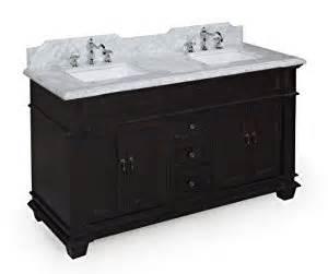 Elizabeth 60 Inch Bathroom Vanity Elizabeth 60 Inch Bathroom Vanity Carrara Espresso