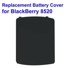 Baterai Bb 8520 replacement battery cover for blackberry 8520 with logo black jakartanotebook