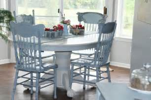 Annie sloan chalk paint table and chairs kitchen table and chairs