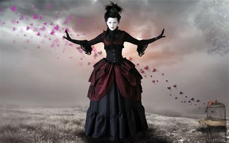 image gothic witch art pc android iphone