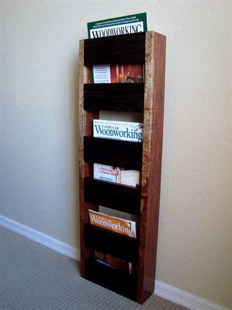 186 wall hanging magazine rack the wood whisperer