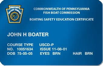 pa boating safety certificate pennsylvania boating license online boaterexam 174