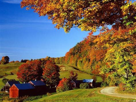 Fall Farmhouse Wallpaper Free Fall Wallpapers Pictures Wallpaper Cave