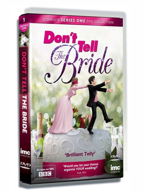 film don t tell the bride don t tell the bride series 1 163 14 83 reality tv box