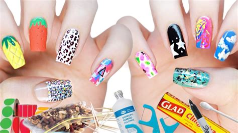 back to school nails the ultimate guide youtube 10 diy nail art designs using household items the