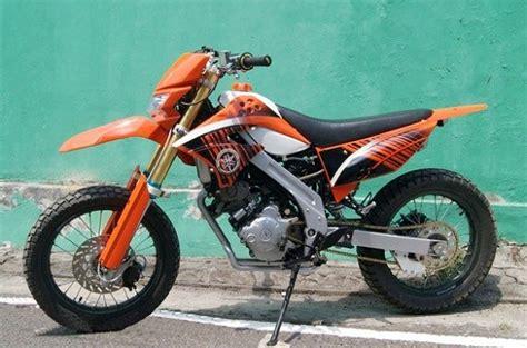 Cara Modif Motor Mx by Cara Modifikasi Yamaha Jupiter Mx 135 Supermoto