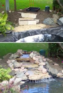 Waterfall Ponds Backyard Diy Garden Waterfalls The Garden Glove